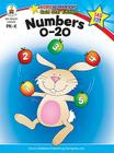 Numbers 0-20, Grades Pk - K: Gold Star Edition (Home Workbooks) Cover Image