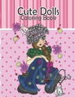 Cute Dolls Coloring Book Cover Image