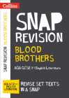 Collins GCSE 9-1 Snap Revision – Blood Brothers: AQA GCSE 9-1 English Literature Text Guide Cover Image