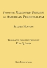 From the Philosophia Perennis to American Perennialism Cover Image
