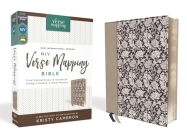 Niv, Verse Mapping Bible, Leathersoft, Navy Floral, Comfort Print: Find Connections in Scripture Using a Unique 5-Step Process Cover Image