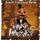 Adult Coloring Books: Happy Halloween Coloring Books for Adult Cover Image