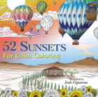 52 Sunsets: A Year of Calm Coloring Cover Image