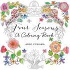 Four Seasons: A Coloring Book Cover Image