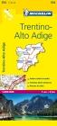 Michelin Trentino-Alto Adige Map (Michelin Maps #354) Cover Image