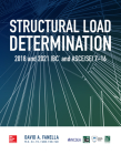 Structural Load Determination: 2018 and 2021 IBC and Asce/SEI 7-16 Cover Image