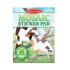 Mosaic Sticker Pad - Nature Cover Image