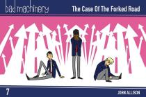 Bad Machinery Vol. 7: The Case of the Forked Road, Pocket Edition Cover Image