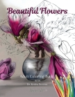 Beautiful Flowers Coloring Book Cover Image