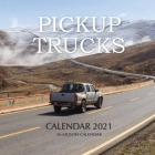 Pickup Trucks Calendar 2021: 16 Month Calendar Cover Image