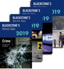 Blackstone's Police Q&a: Four Volume Pack 2019 Cover Image