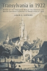 Transylvania in 1922: Report of the Commission Sent by the American and British Unitarian Churches to Transylvania in 1922 Cover Image