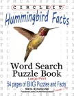 Circle It, Hummingbird Facts, Word Search, Puzzle Book Cover Image