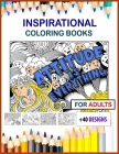 inspirational coloring books for adults large print: inspirational coloring books for adults 8.5x11 size Cover Image