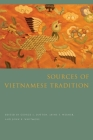 Sources of Vietnamese Tradition (Introduction to Asian Civilizations) Cover Image