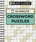 Brain Games 10 Minute Crossword Puzzles Cover Image
