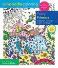 Zendoodle Coloring: Furry Friends: Cuddly Cats and Dogs to Color and Display Cover Image