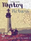 Mystery Pictures: 46 Iconic Scenes to Color by Number Cover Image