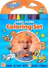 Blippi: Carry-Along Coloring Set Cover Image
