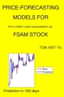 Price-Forecasting Models for Fifth Street Asset Management Inc. FSAM Stock Cover Image