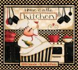 Home Is in the Kitchen 2019 Deluxe Wall Calendar Cover Image