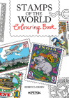 The Stamps of the World Colouring Book Cover Image