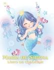 Magia de Sirena Libro de colorear Cover Image