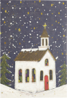 Village Church Small Boxed Holiday Cards Cover Image
