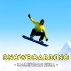 Snowboarding Calendar 2021: Cute Gift Idea For Snowboarding Lovers Men And Women Cover Image
