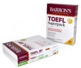 TOEFL Superpack: 3 Books + Practice Tests + Audio Online (Barron's Test Prep) Cover Image