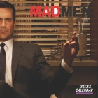 Mad Men Calendar 2021: 16 MONTHS 8.5x8.5 INCH GLOSSY FINISH Cover Image