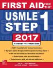 First Aid for the USMLE Step 1 2017 Cover Image