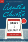 A Murder Is Announced: A Miss Marple Mystery (Miss Marple Mysteries) Cover Image