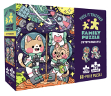 Piece It Together Family Puzzle: Catstronauts!: (60-Piece Puzzle for Kids and Toddlers 2-5, Beach and Ocean Artwork) Cover Image