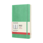 Moleskine 2022 Daily Planner, 12M, Large, Ice Green, Soft Cover (5 x 8.25) Cover Image
