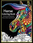 Horse Coloring books for adults Cover Image