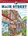 Creative Haven Main Street Coloring Book Cover Image
