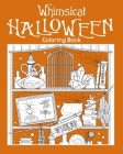 Whimsical Halloween Coloring Book Cover Image