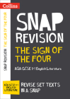 Collins GCSE 9-1 Snap Revision – The Sign of the Four: AQA GCSE 9-1 English Literature Text Guide Cover Image