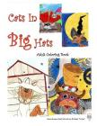 Cats in Big Hats: An Adult Coloring Book Cover Image
