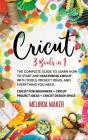 Cricut 3 Books in 1 Cover Image