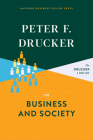 Peter F. Drucker on Business and Society Cover Image