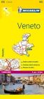 Michelin Veneto Map (Michelin Maps #355) Cover Image