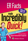 ER Facts Made Incredibly Quick (Incredibly Easy! Series®) Cover Image