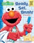 Sesame Street Ready, Set, Brush! A Pop-Up Book Cover Image