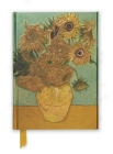 Van Gogh: Sunflowers (Foiled Journal) (Flame Tree Notebooks #12) Cover Image