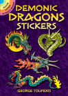 Demonic Dragons Stickers (Dover Stickers) Cover Image