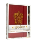 Harry Potter: Gryffindor Hardcover Journal and Elder Wand Pen Set Cover Image