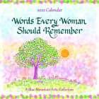 Blue Mountain Arts 2022 Calendar Words Every Woman Should Remember 12 X 12 In. 12-Month Hanging Wall Calendar Is Filled with Inspiration and Uplifting Cover Image