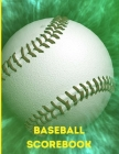 Baseball Scorebook: Baseball Scorebook: For Baseball Coaches, Players and Fans;lined Notebook with 120 Pages: Coach Gift For, Girls, Boys Cover Image